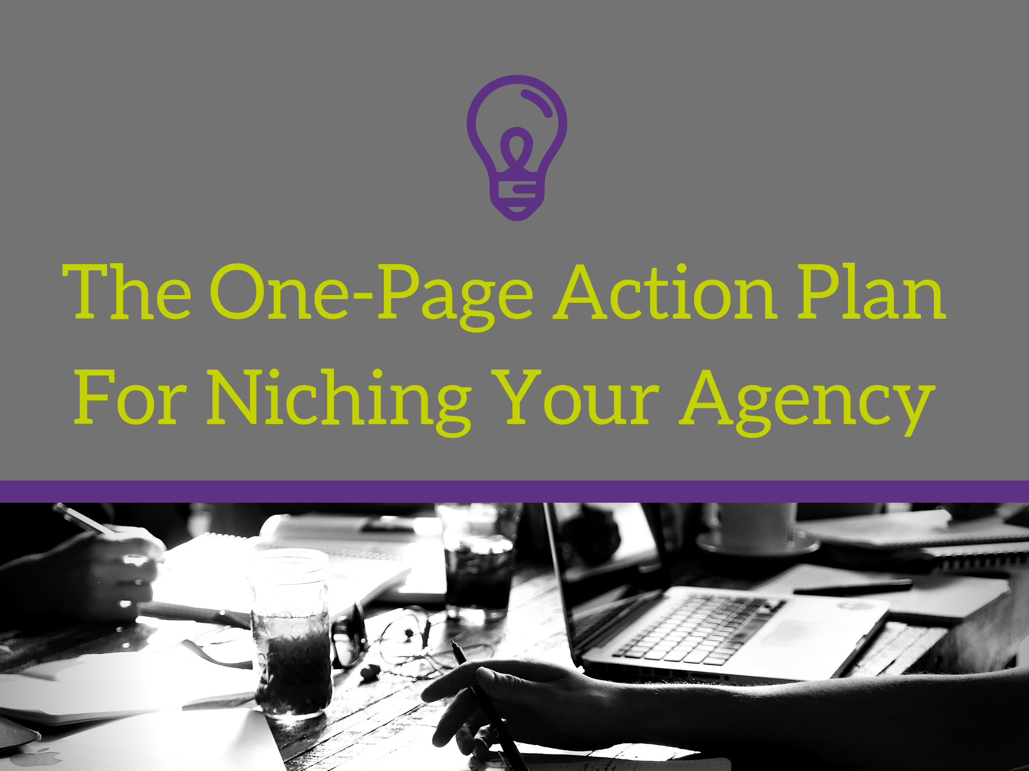 Niching your agency