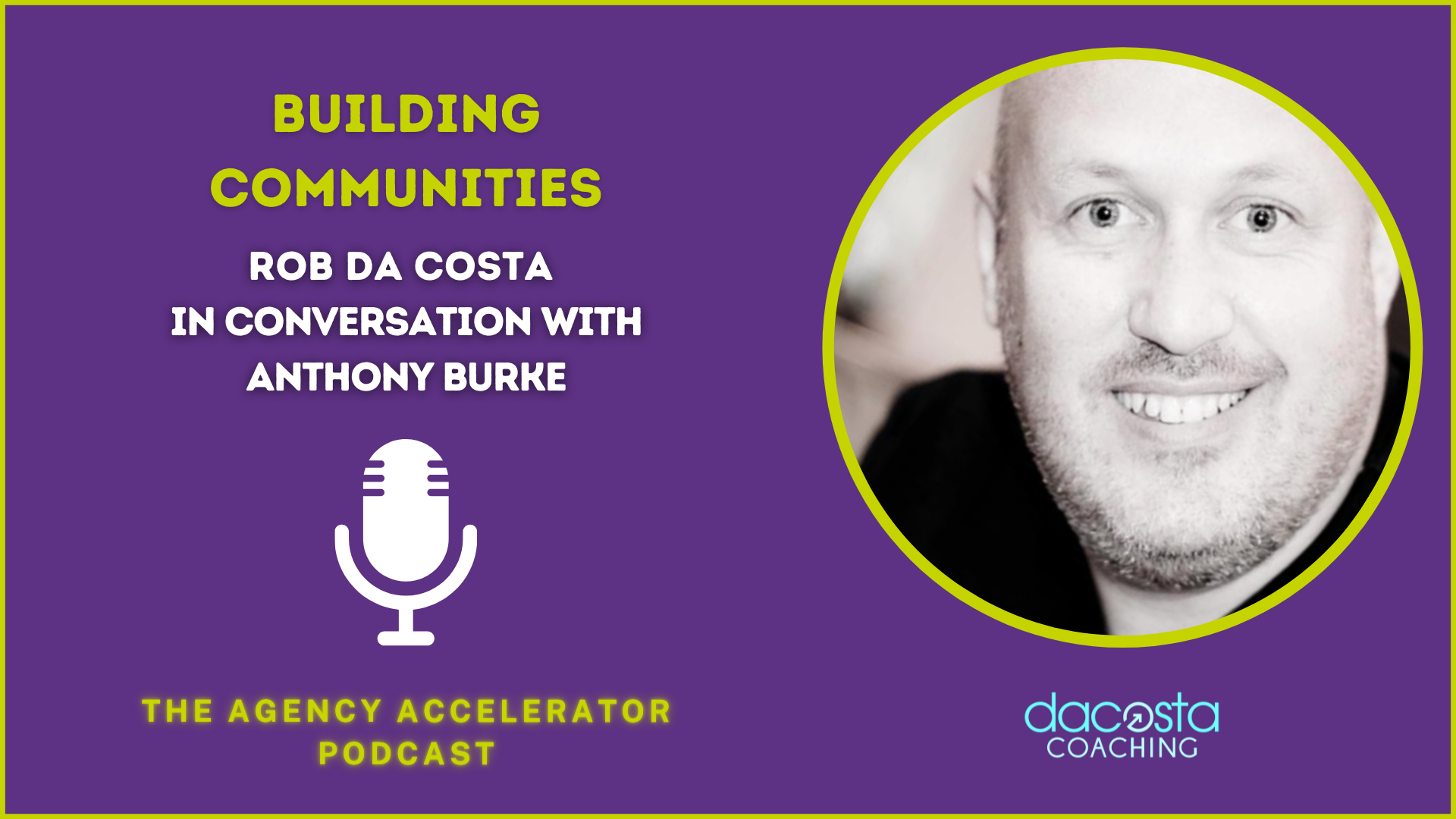 Building Communities with Anthony Burke